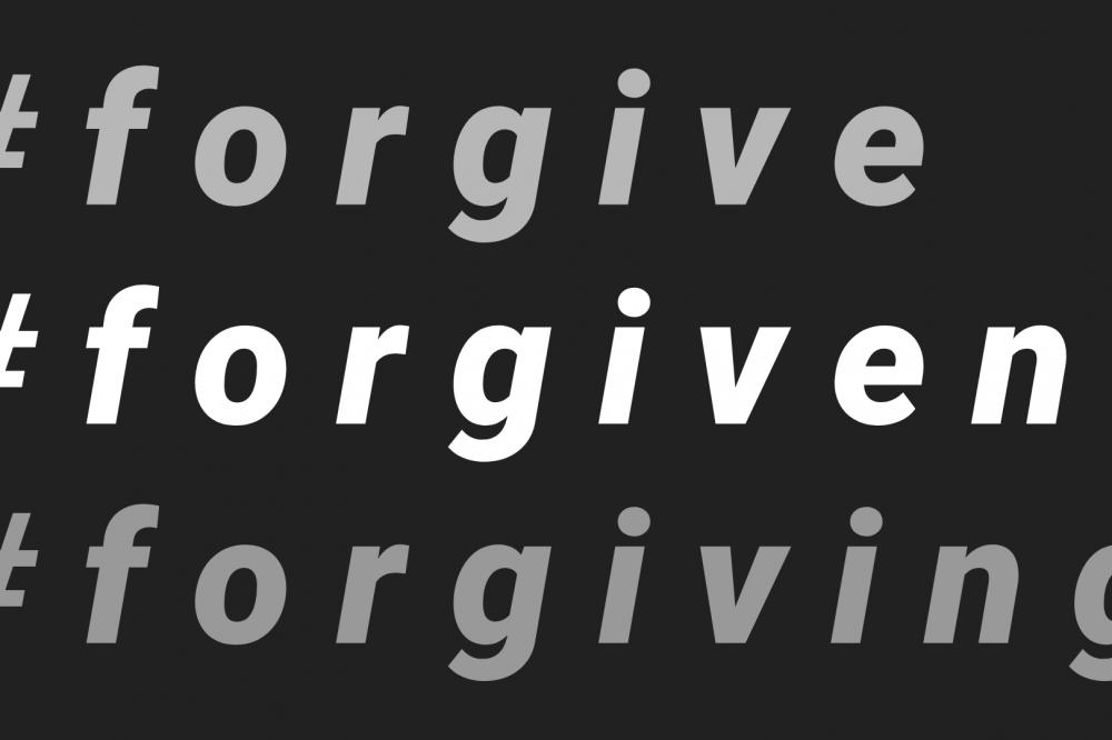 #forgiven