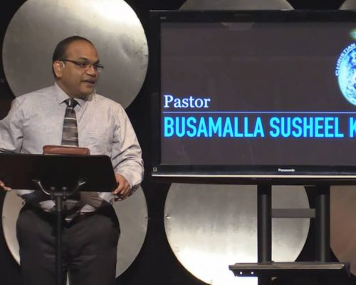 Busamalla Susheel Kumar – 'Aint God Good Ministries